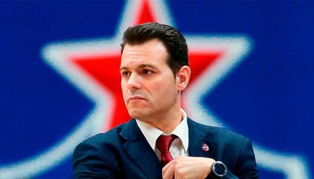 ЦСКА продлил контракт с Итудисом на два года