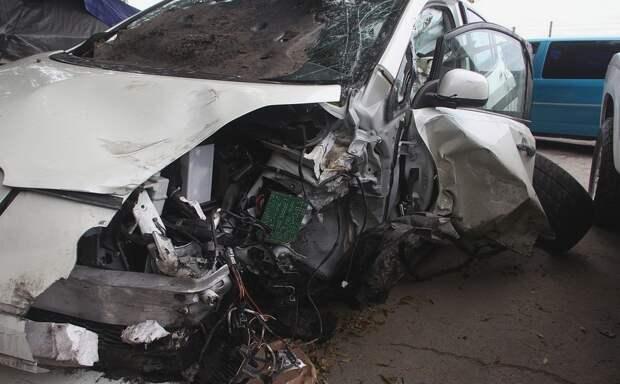 В тройном ДТП под Симферополем погибли два водителя