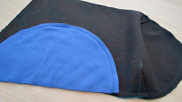 Шьем шапку ипалантин изпавловопосадского платка