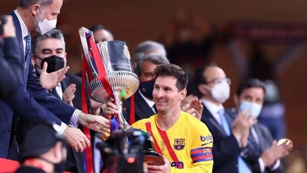 Месси завоевал 35-й трофей с «Барселоной»