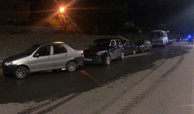 Вночном ДТП сшестью машинами вВолгограде погибли два человека