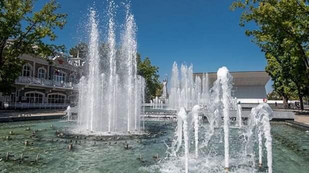 В Краснодаре готовятся к сезону фонтанов