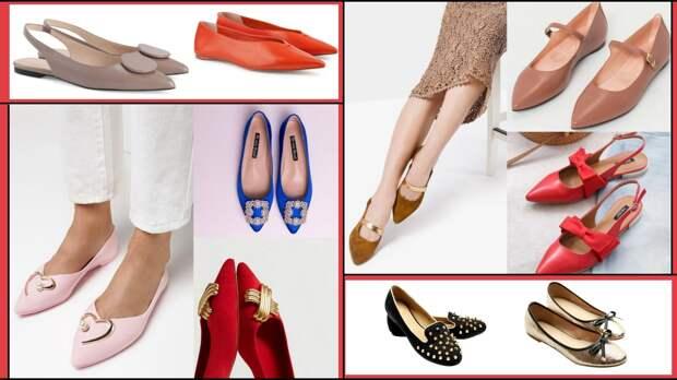 Балетки: 5 моделей которые будут раскупать этой весной модницы