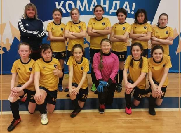 Футболистки из Строгина стала чемпионками Москвы
