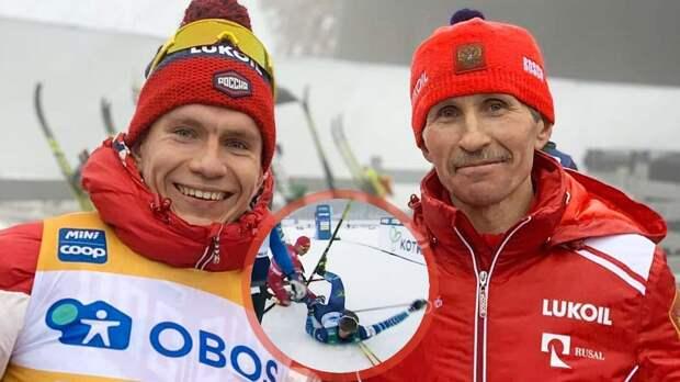 Норвежцы и финны захейтили русского лыжника, который ударил соперника