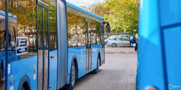 В Отрадном появились электробусы-гармошки