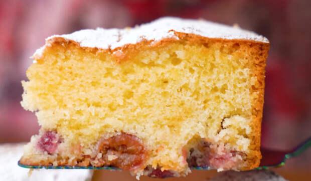 Самый летний пирог с ягодами без молока и сливочного масла, стоит копейки, на вкус — потрясающе