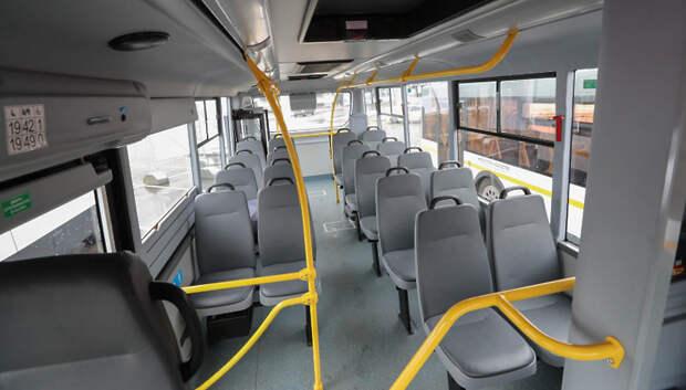 Число пассажиров в подмосковных автобусах снизилось на 75% по сравнению с началом марта