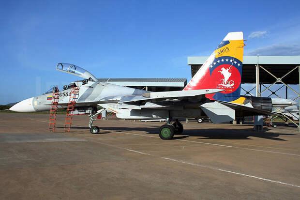 Российские самолеты и ЗРК сделали ВВС Венесуэлы сильнейшими в регионе