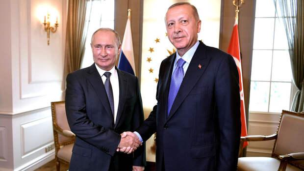 Эрдоган обсудит с Путиным операцию против курдов-террористов в Сирии