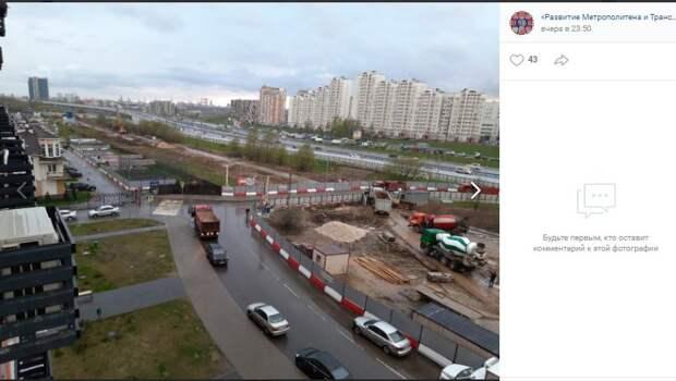 На площадке строительства оборотных тупиков «Физтеха» скоро будет котлован