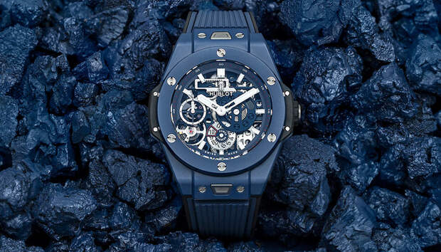 Новые часы Hublot Big Bang цвета индиго носит чемпион Новак Джокович — а теперь можете и вы