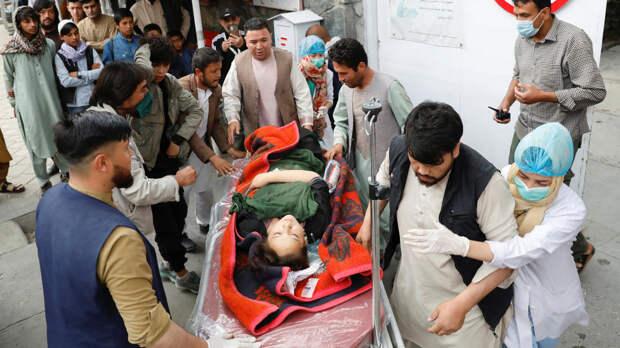 Число жертв при взрывах у школы в Кабуле возросло до 55 человек