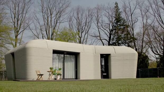 Напечатанный на 3D-принтере дом в Нидерландах арендовали первые жильцы