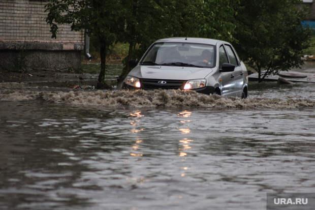 Красноярск затопило