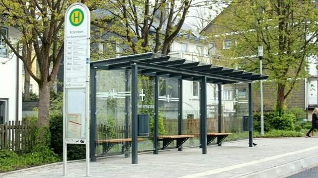 Зачем в Германии строят остановки, к которым никогда не ходит транспорт
