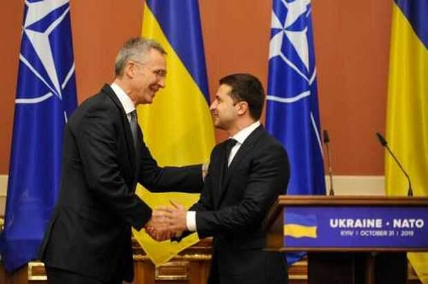 Украина: партнёрство с НАТО как повод для беспокойства