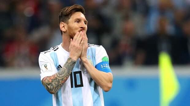 Месси, Агуэро и Лаутаро Мартинес включены в состав сборной Аргентины на матчи отбора ЧМ-2022