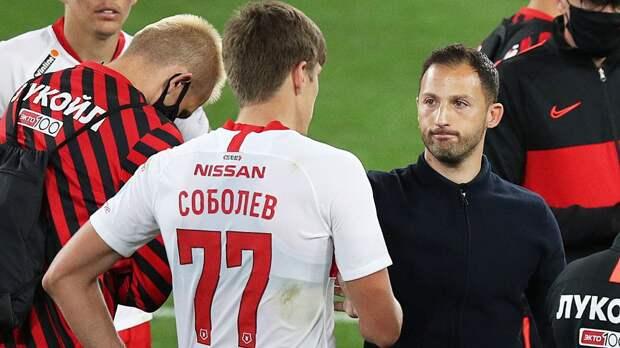 Соболев: «Чувствую, что благодаря Тедеско сильно прибавил в футбольном мышлении»