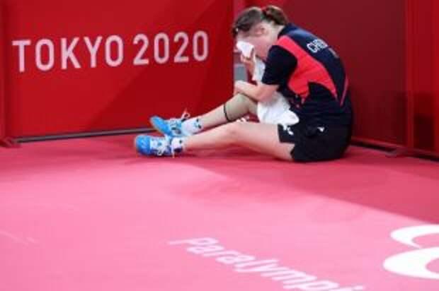 Теннисистка Чебаника стала обладательницей бронзы на Паралимпиаде в Токио