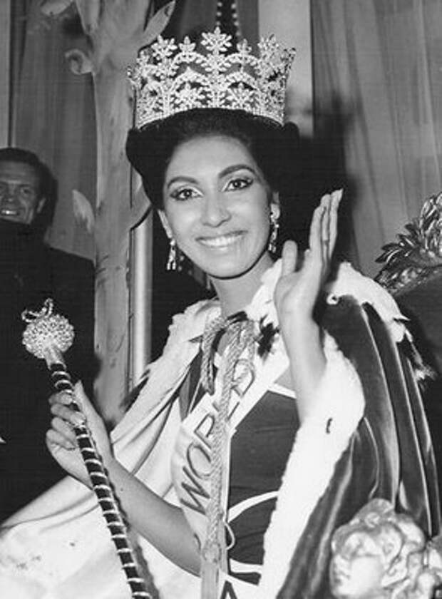 индианка Рейта Фариа, Мисс мира 1966. Фото / Reita Faria (India), Miss World 1966. Photo