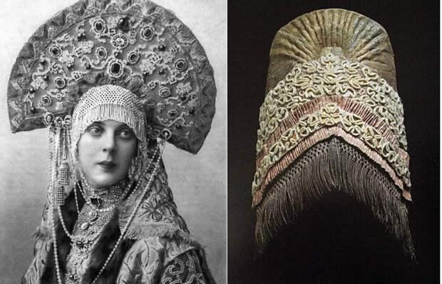 Кокошник – забытая корона русских красавиц