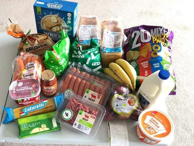 Вот сколько еды можно купить по цене пачки сигарет в Австралии