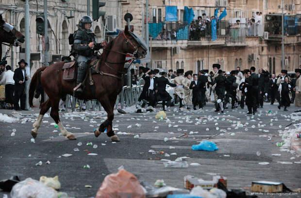 В Иерусалиме вспыхнули беспорядки