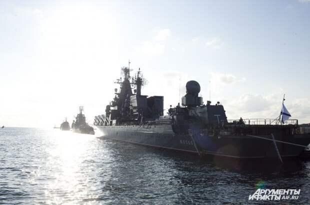 Украина выразила протест России из-за учений в Черном море