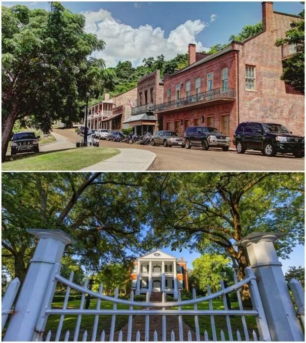 Приобретение недвижимости в городе Натчез является главным условием программы Shift South (Штат Миссисипи, США).
