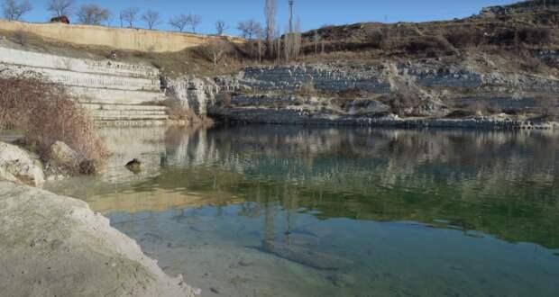 Обезвоженное Инкерманское озеро снова наполнят водой
