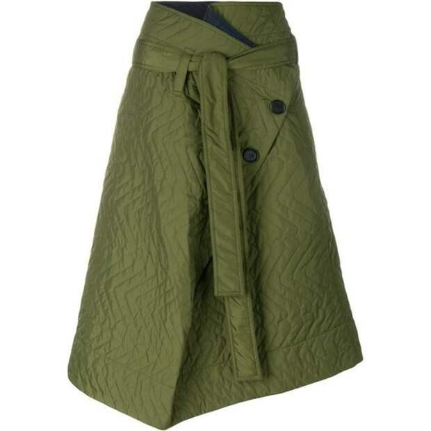 непромокаемая плащевка зимняя теплая юбка