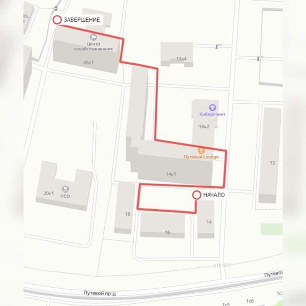 Глава управы оценит состояние дворов в Путевом проезде