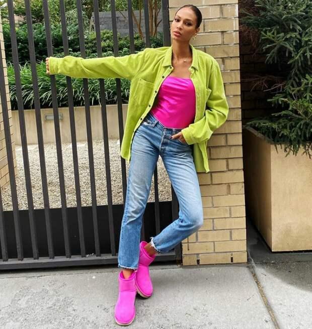 Топ-модель Джоан Смоллс. @instagram.com/joansmalls/