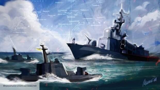 Украинские моряки действовали в связке с НАТО: политолог раскрыл подробности Керченского инцидента