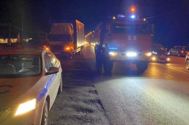 В Пензенской области фура врезалась в автобус с пассажирами