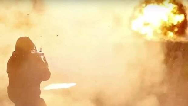 СРОЧНО: нападение на колонну армии США, горит техника (ФОТО, ВИДЕО)