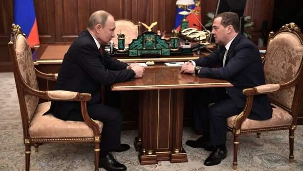 Путин предложил Медведеву занять пост заместителя председателя Совбеза