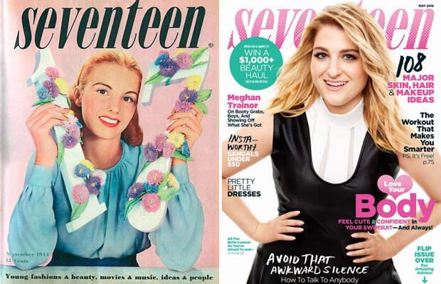 Обложки культовых журналов вчера и сегодня