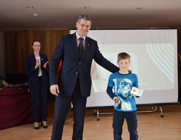 В ДК «Химволокно» в Твери прошла церемония награждения победителей комплекса ГТО