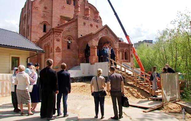 В Москве возводят храм в честь Марии Магдалины