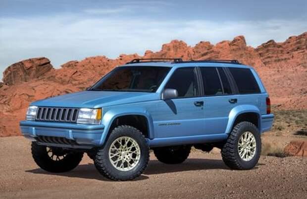 Он вернулся: Jeep представил… Grand Cherokee первого поколения