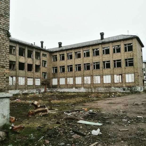 Воркута, школа номер 16.
