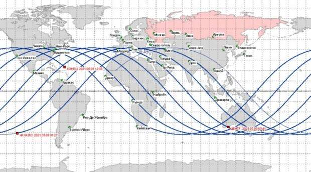 Куда упадет ракета Китая: USSPACECOM— наТуркмению, Роскосмос— вокеан