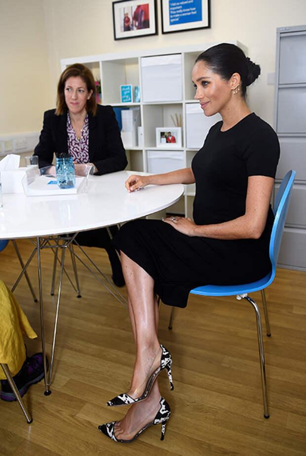 Меган Маркл посетила мастерскую фонда Smart Works, чьим покровителем была объявлена