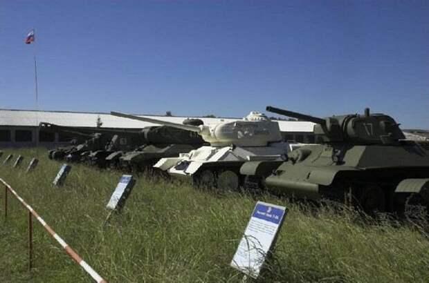 В подмосковной Кубинке находится самый большой музей танков