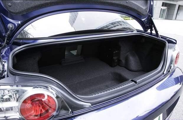 mazda rx 8 объем багажника