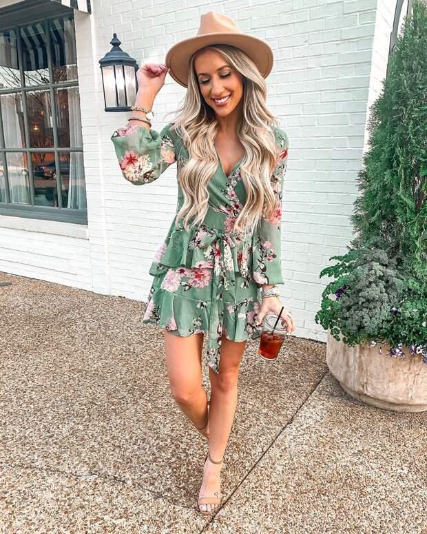 летнее платье с рукавами фото 2
