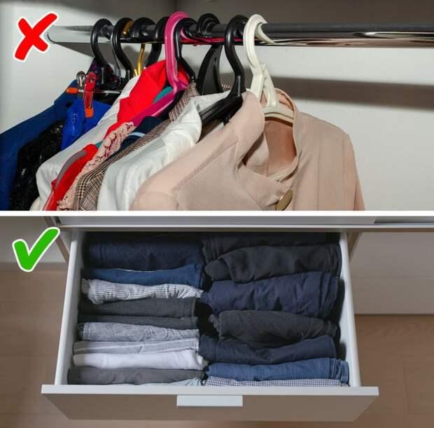 10 ошибок хранения, из-за которых в маленьких квартирах ничего нельзя найти