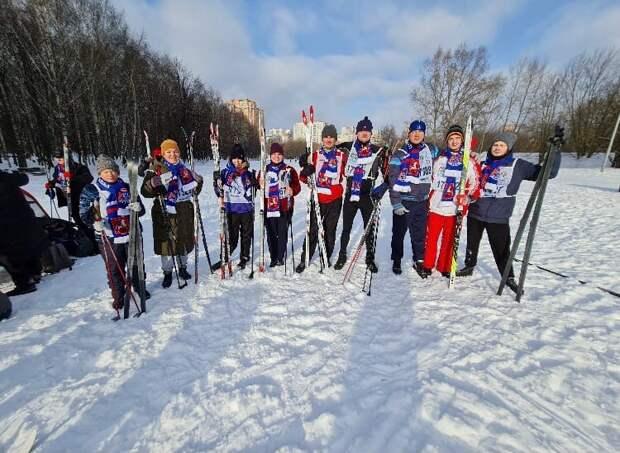Лыжница из Алтуфьева стала бронзовым призером окружных соревнований